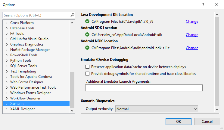 Can't install Nuget package of Xamarin Android Support v4