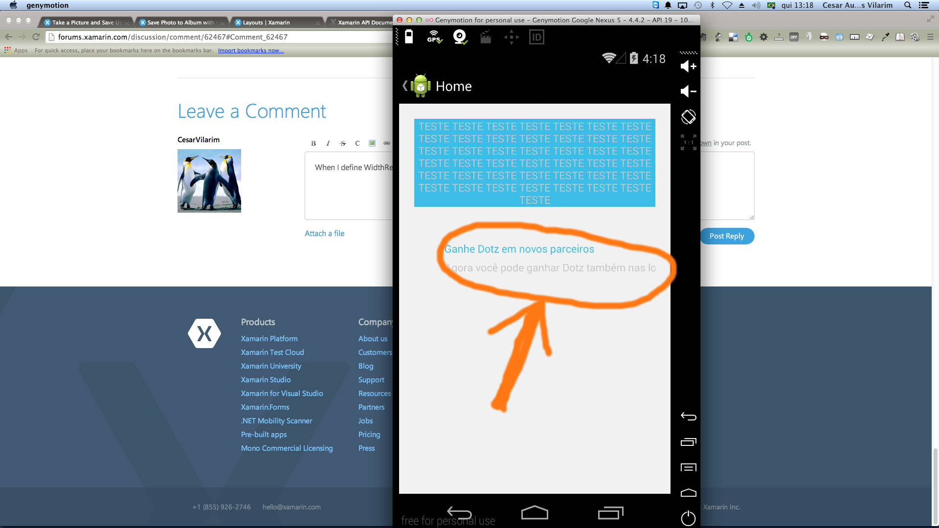 ScrollView inside other layouts — Xamarin Community Forums