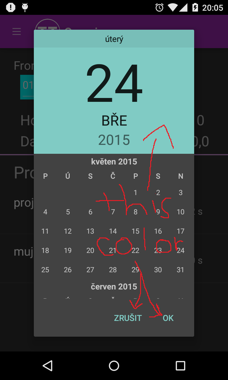 "Android Image Picker change ""theme"" color of datepicker/picker android — xamarin"