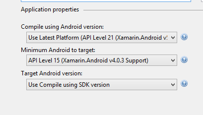 how to release a xamarin.forms build