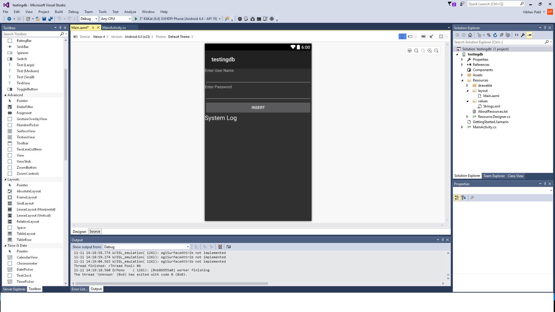 Xamarin Mono Andorid with SQL Server Database — Xamarin Community Forums