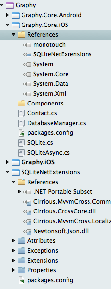 Creating database with SQLite only once — Xamarin Community