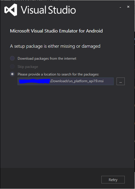 microsoft visual studio emulator for android download