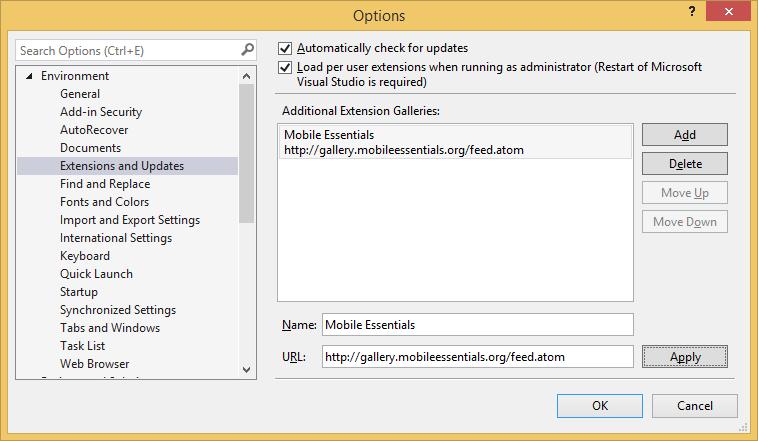 CocosSharp project templates for Visual Studio — Xamarin
