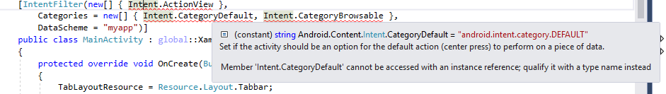 In what method should I handle opening app by URL (my scheme