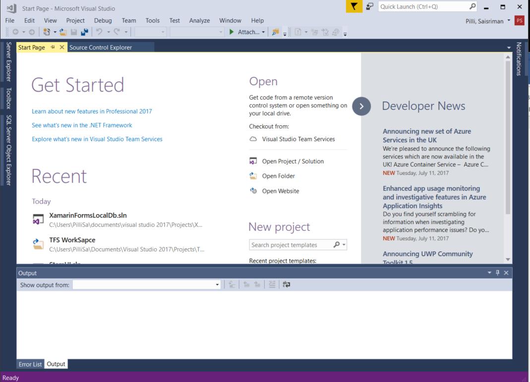 Xamarin Installation On Visual Studio 2017 Windows 10 Xamarin