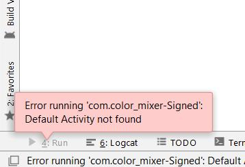 Default Activity Not Found When Using Second Activity In Androidmanifest Xamarin Community Forums