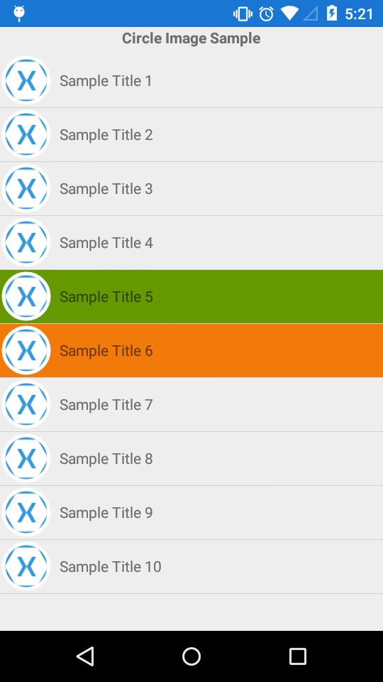 Listview Selected Item background unable to to change? — Xamarin