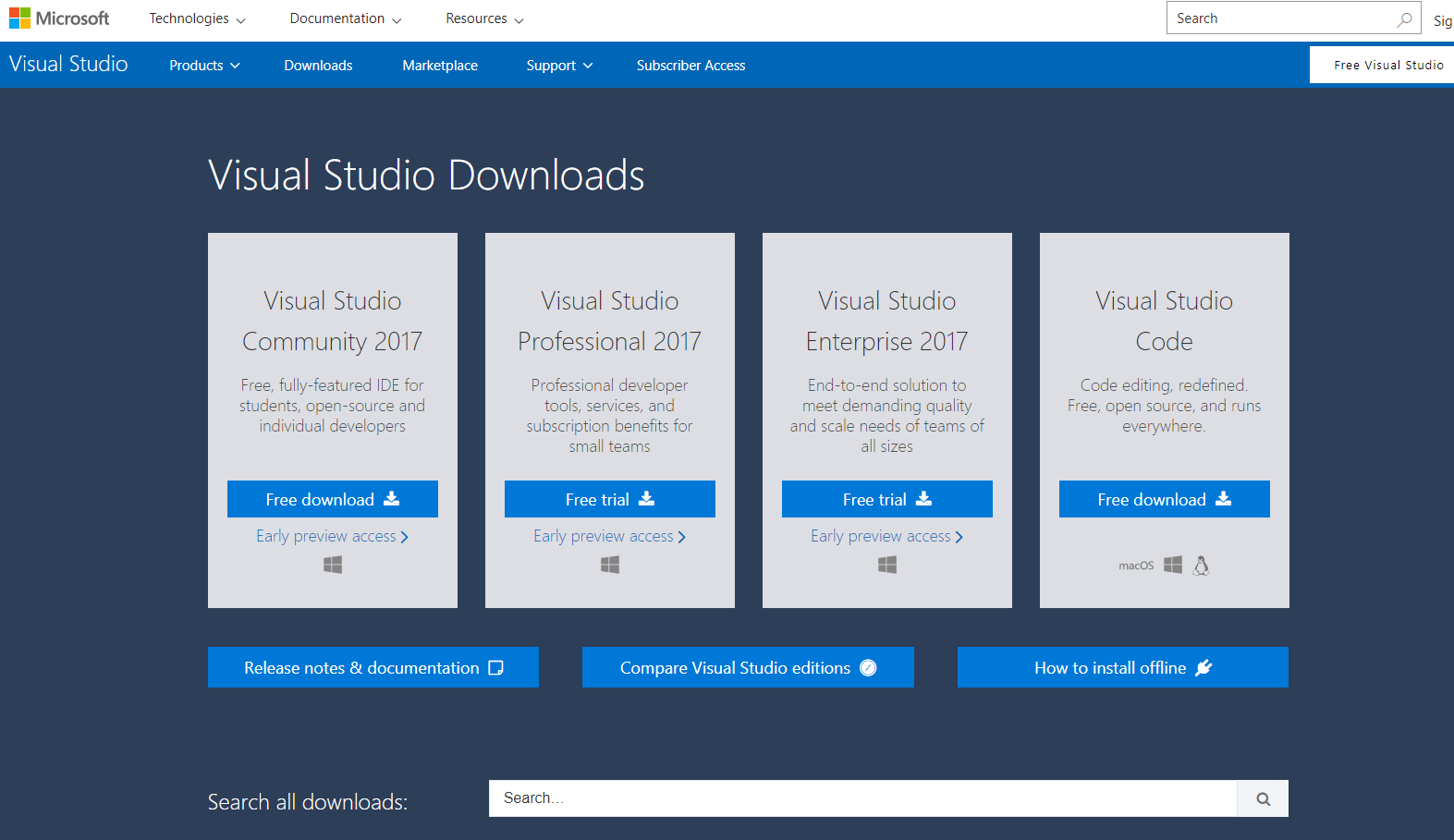 Xamarin Installation on Visual Studio 2017 Windows 10 — Xamarin