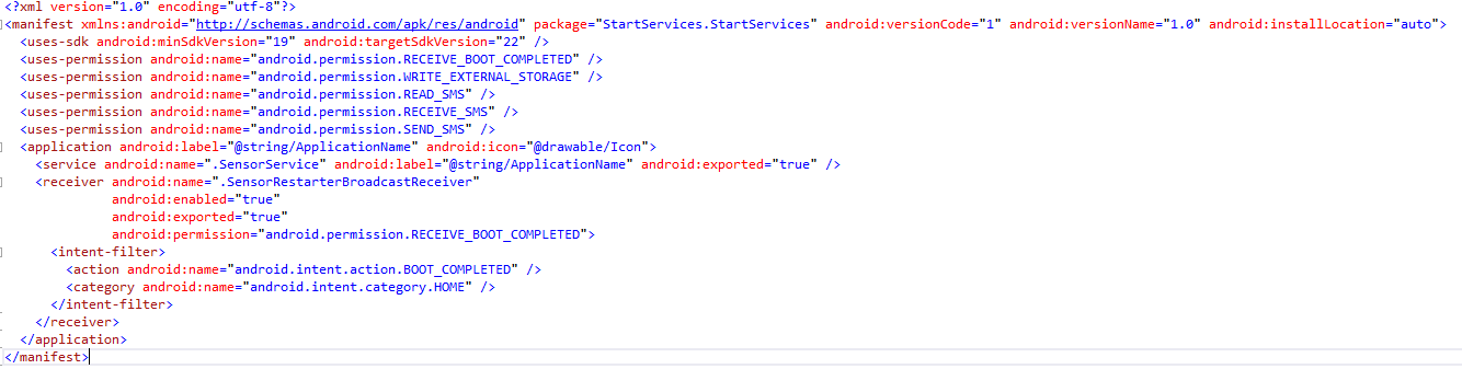 Creating a never ending background service in Android ? — Xamarin