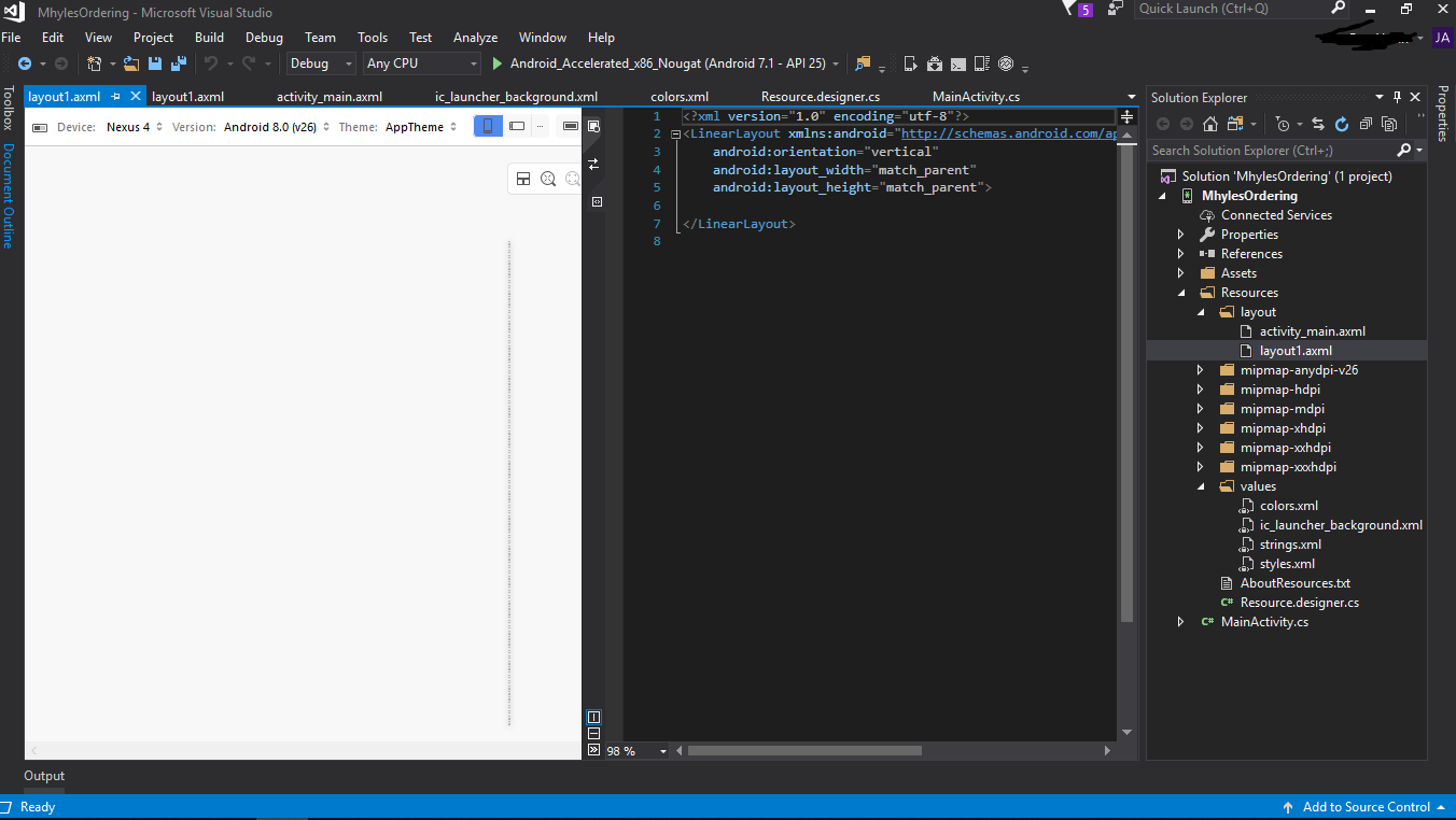 what xamarin android preview not working    u2014 xamarin