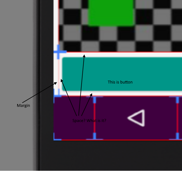 Xamarin Forms 2 5] There is a space in the button  What is