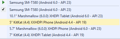 Unable to deploy to VS Android Emulator for Android projects
