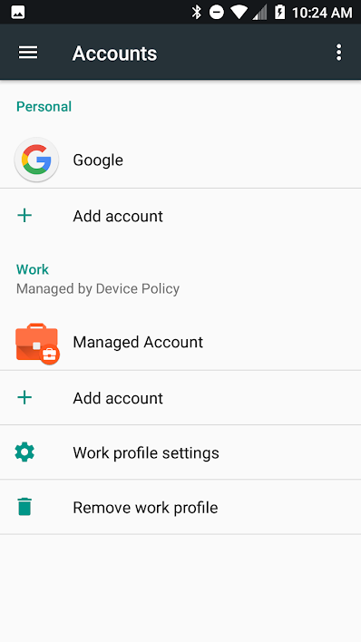 Xamarin android: How to access apps in work profile/Managed