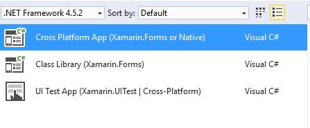Cann't find Xamrin forms portable — Xamarin Community Forums