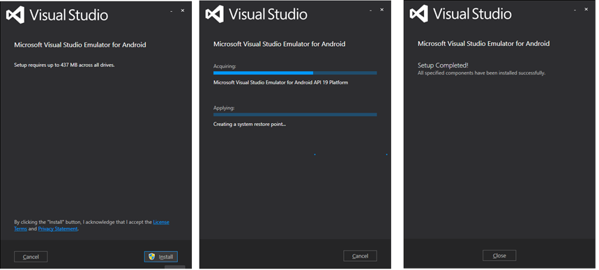 Visual Studio 2017 Emulator for Android? — Xamarin Community