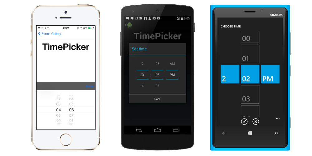 Time Picker in 12 hours format — Xamarin Community Forums