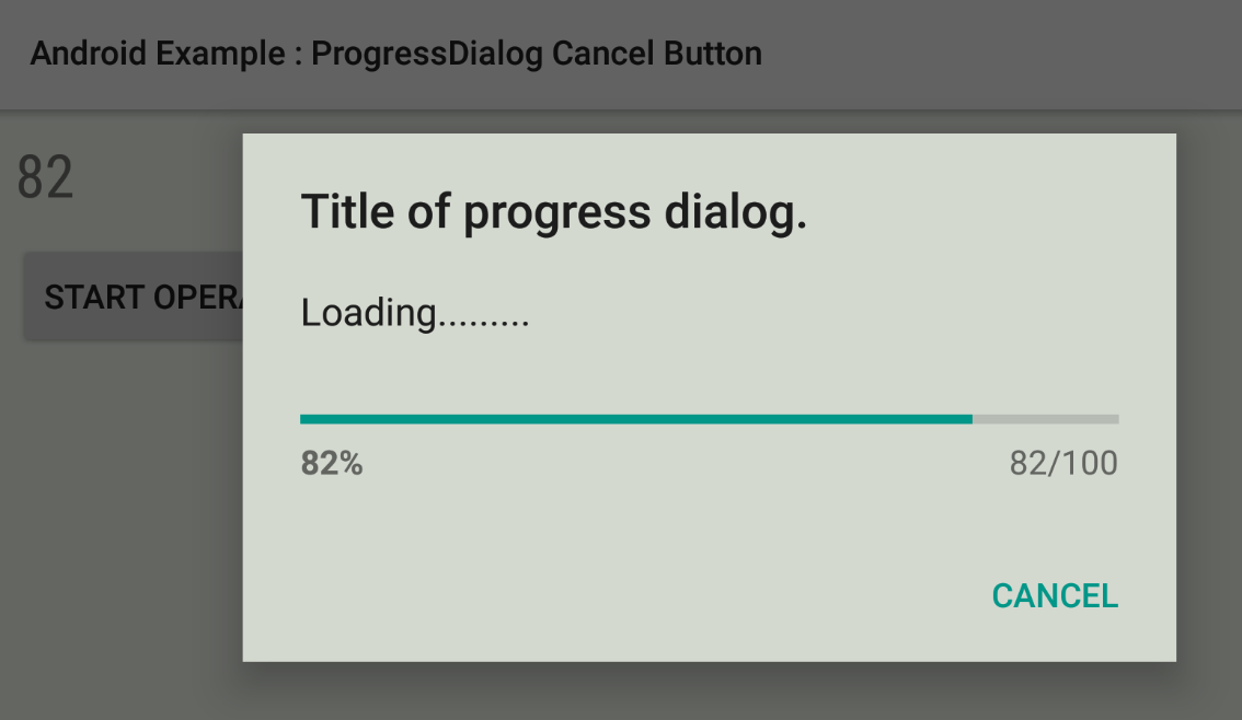 Progress dialog for Andorid and iOS — Xamarin Community Forums