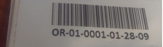 ZXing Barcode scanning(code128 format) is not working in