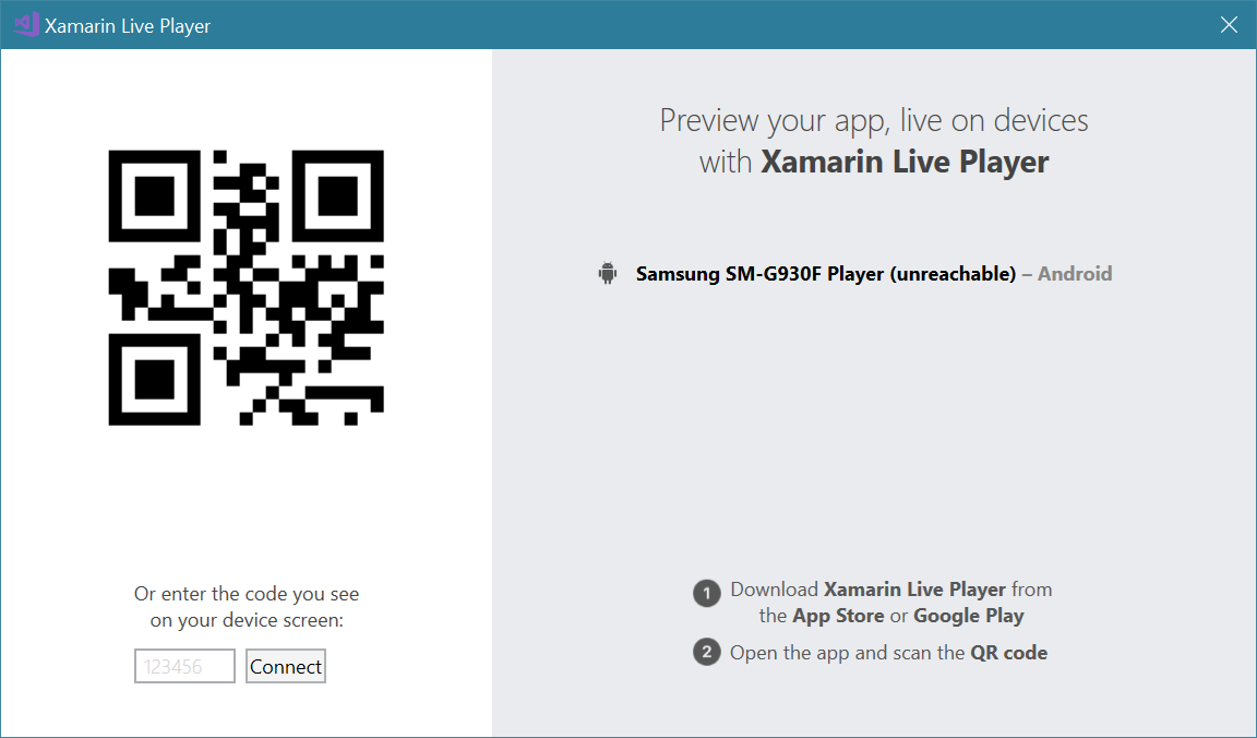 How do I deploy using Xamarin Live Player? \u2014 Xamarin Community Forums