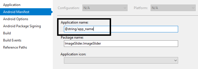 No resource found that matches given name(at 'label' with value
