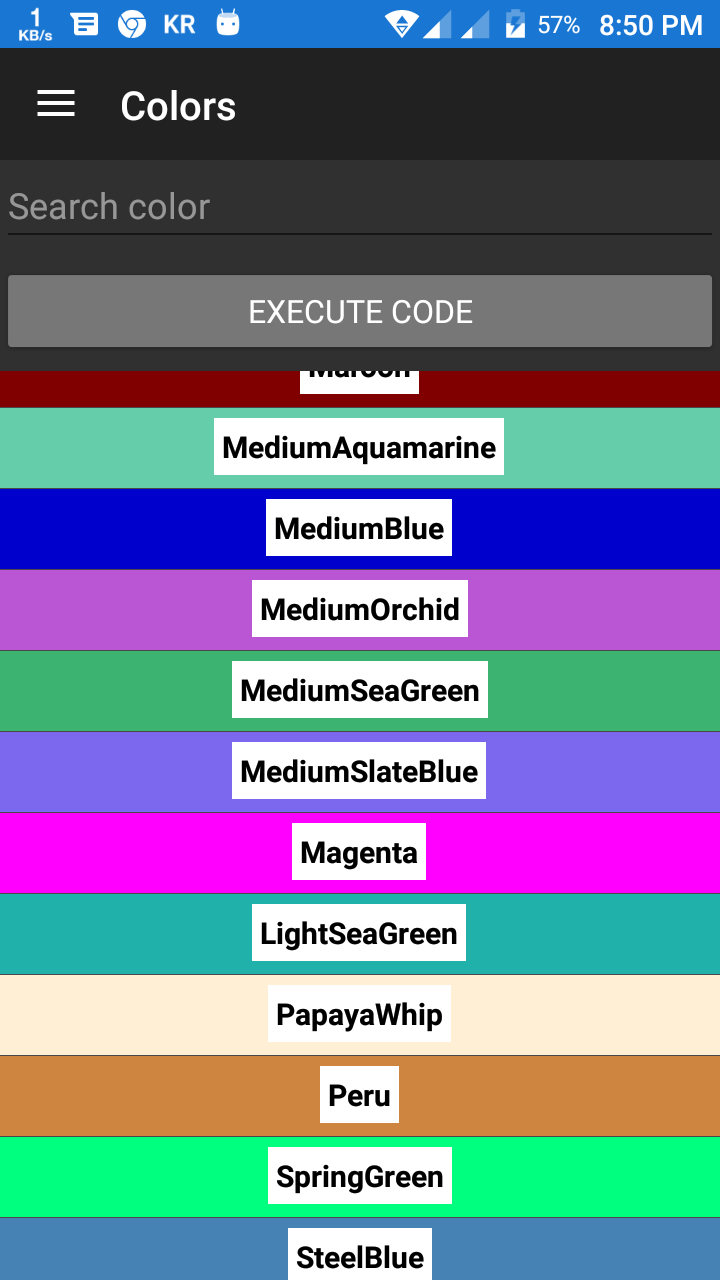 I Just Created A Cl That Get All List Of Colors Or Random Light And Dark