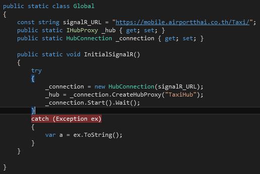 iOS SignalR Client Error via HTTPS (PCL-Project) — Xamarin