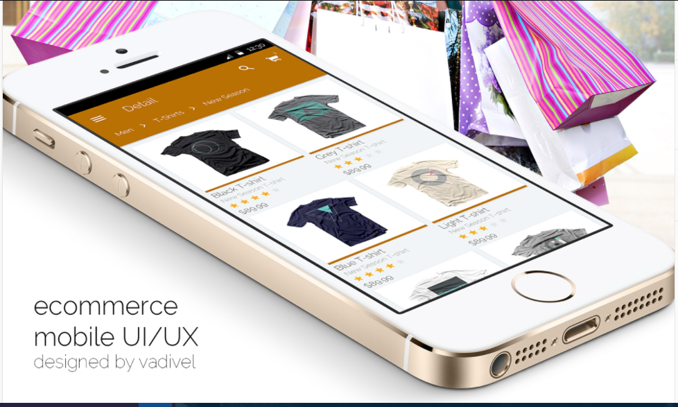 How to design beautiful UI for E-Commerce App in Xamarin