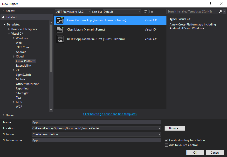 Xamarin form template is not showing in the visual studio for Xamarin studio code templates