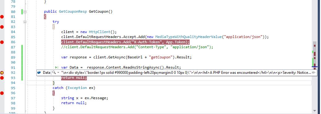 Get type API response — Xamarin Community Forums