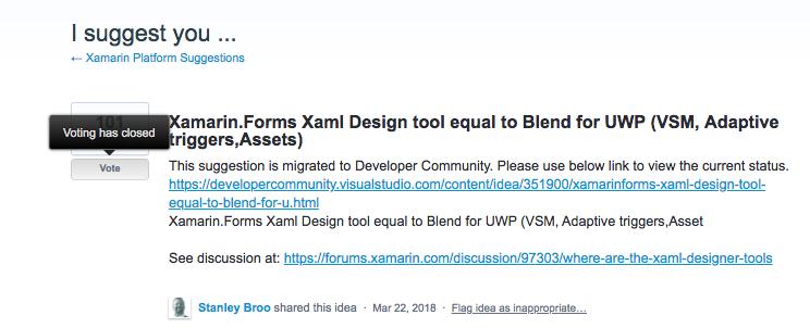 Previewing XAML File in Xamarin Forms — Xamarin Community Forums