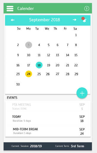 How to implement a calendar view in Xamarin forms?? — Xamarin