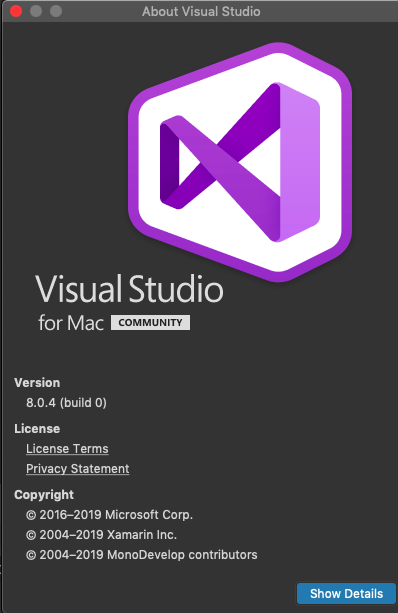 when I try to sign my APP in visual studio using the visual