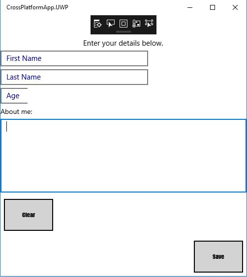 Aligning two buttons horizontally — Xamarin Community Forums