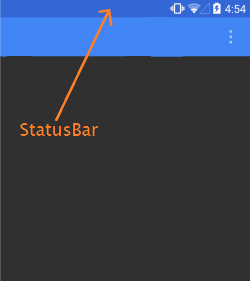 statusbar color change in android and ios xamarin