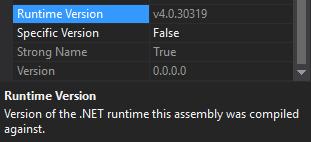 How to check Mono Version in Visual Studio 2017 in Windows