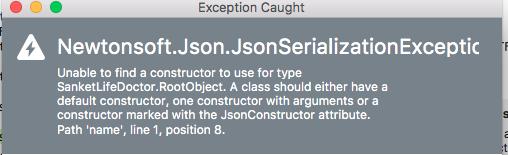 Deserialize JSON data — Xamarin Community Forums