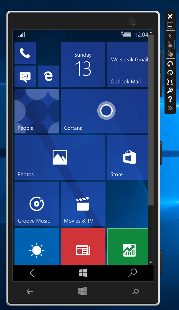 Problems with device simulators (Windows Phone, Android, Windows Ap