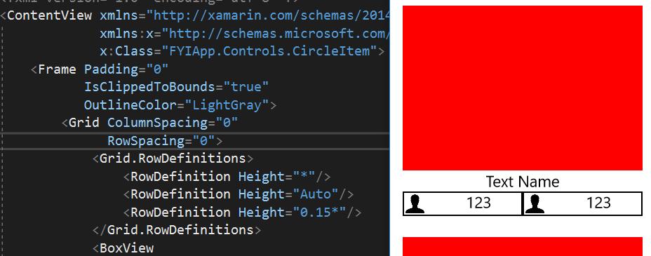 Frame not rounding corners in UWP — Xamarin Community Forums