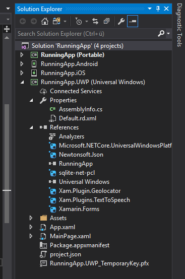 Why does the UWP Release Build crash? — Xamarin Community Forums