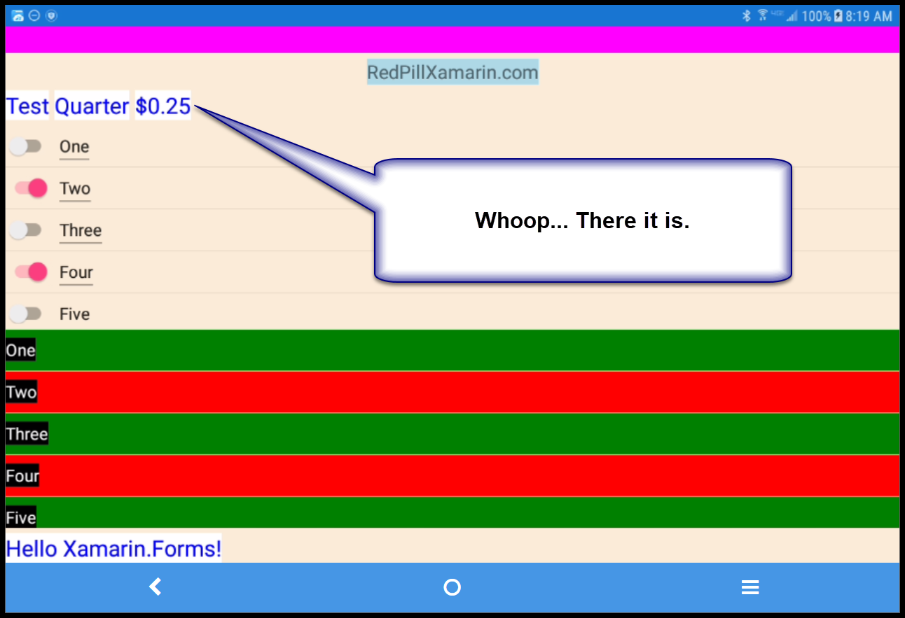 Using StringFormat in Binding in XAML — Xamarin Community Forums