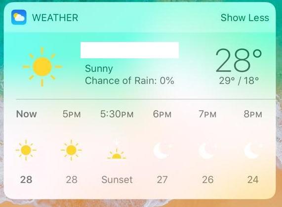 The today widget designer for Xamarin iOS is very limited? — Xamarin