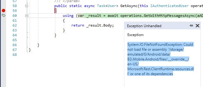 Trying to get Microsoft Rest working in Xamarin — Xamarin Community