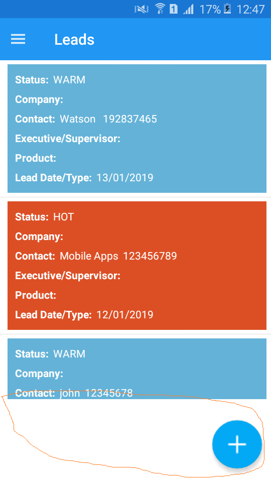 Floating Action Button problem on xamarin forms  — Xamarin Community