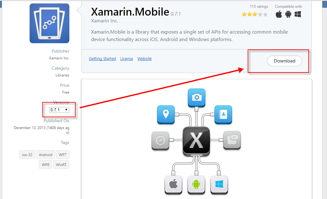 Cannot install Xamarin Mobile from Nuget — Xamarin Community Forums