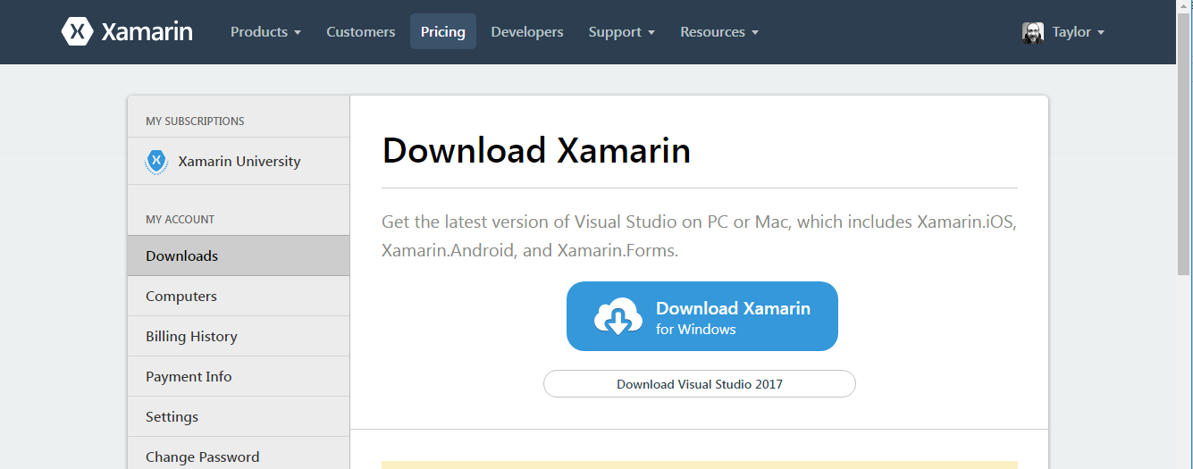 Xamarin and Visual Studio Build Tools 2017 — Xamarin
