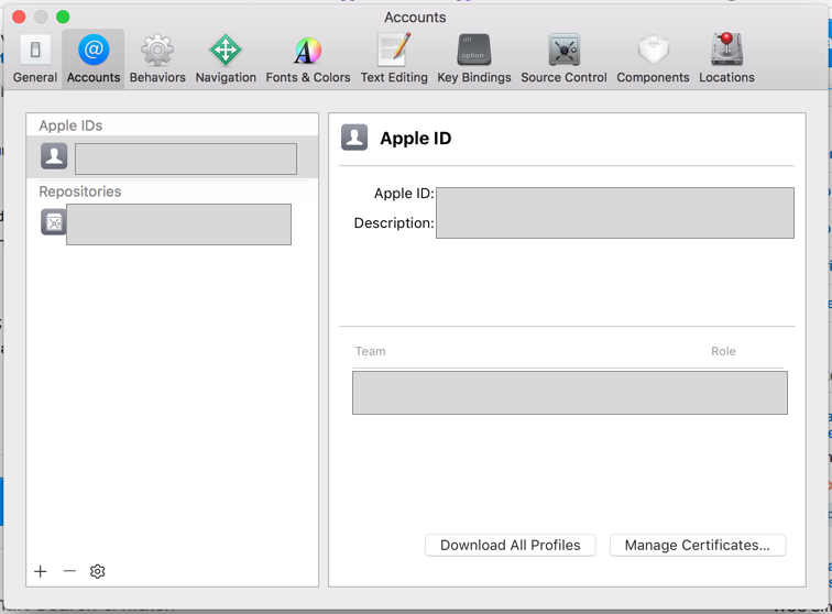Xamarin iOS & XCode 8 3: how to download provisioning profiles