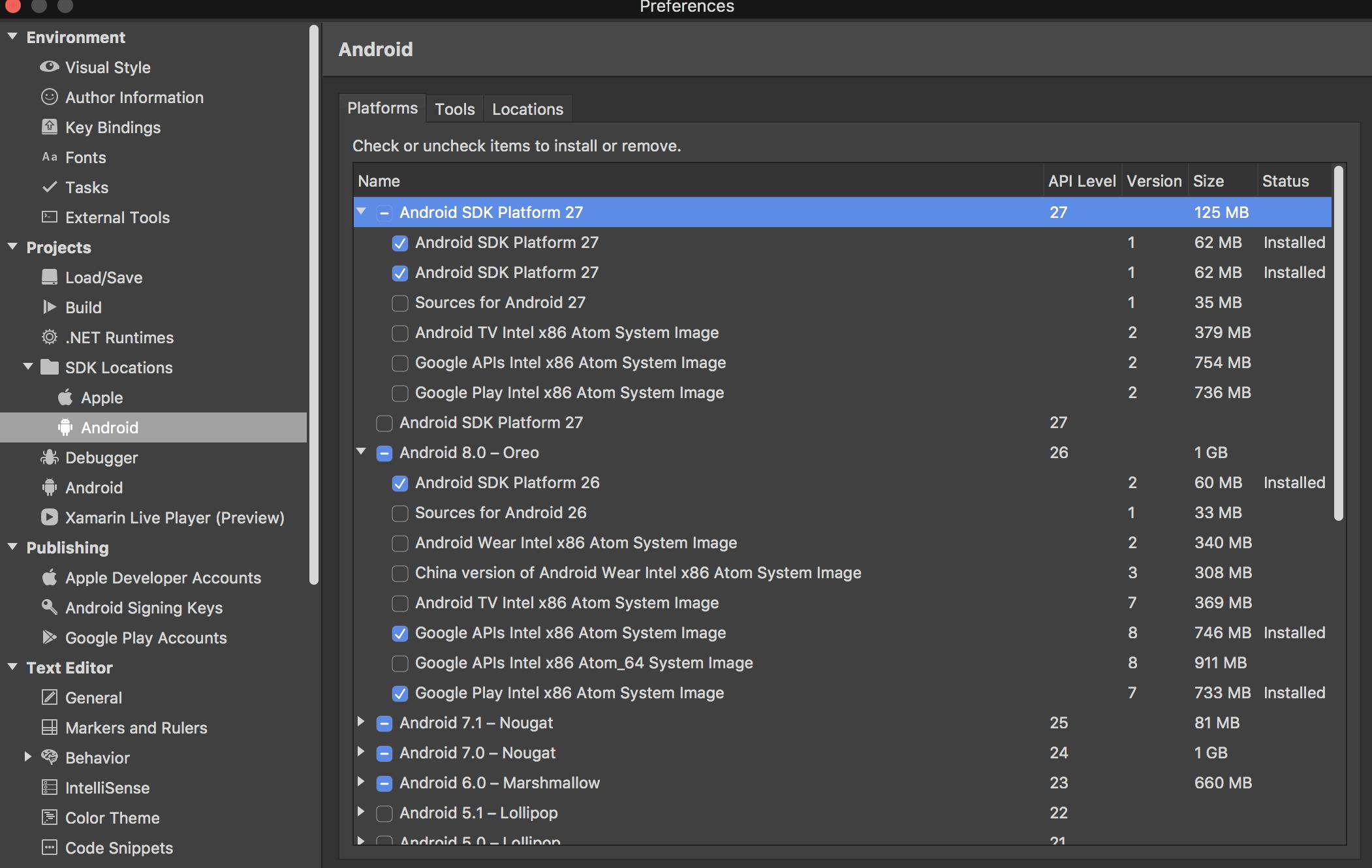 emulator error x86 emulation currently requires hardware acceleration xamarin