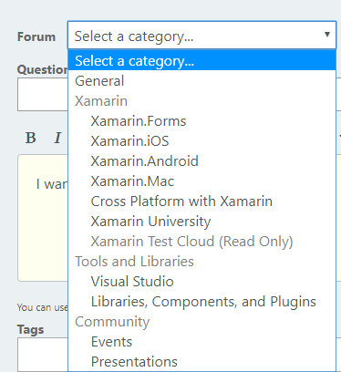 Recent Threads — Xamarin Community Forums