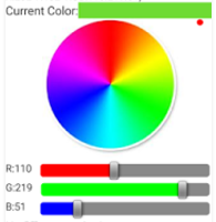How to create custom control to get the RGB value of image on click